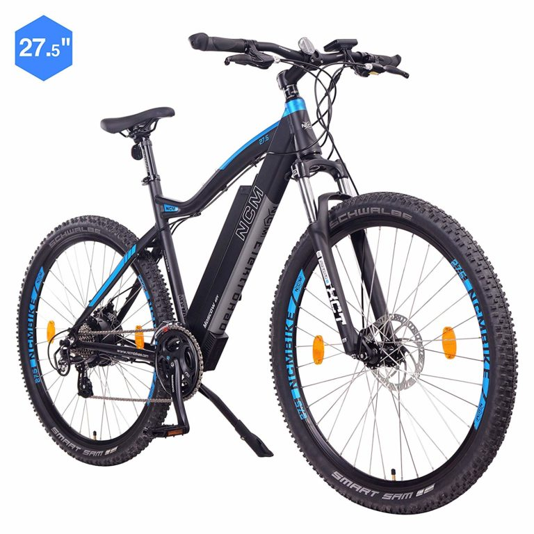 NCM Moscow E-Bike-Mountainbike