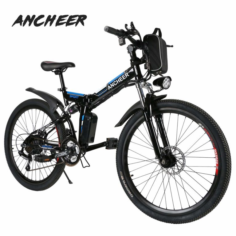 Ancheer E-Bike Faltbares Mountainbike